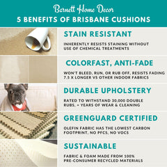 5 Benefits of Brisbane Dining Chair Cushions - Barnett Home Decor
