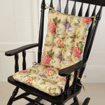 Madison Home Rocking Chair Cushion Set - Latex Foam Fill - Reversible