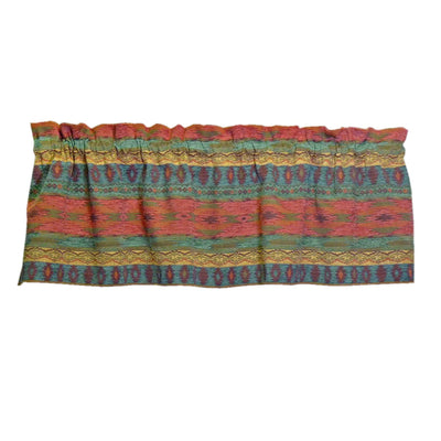 Southwest Phoenix Sunset Valance Window Treatment | Barnett Home Decor