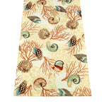 Shell Dance Multi Rectangle Runner | Barnett Home Decor