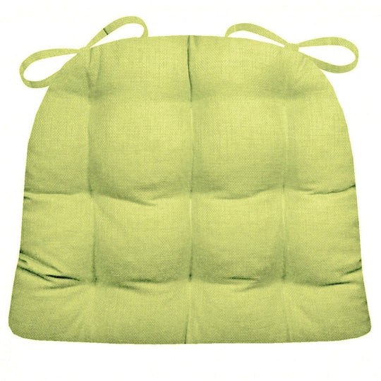 Rave Pear Green Indoor/Outdoor Dining Chair Cushion - Barnett Home Decor - Pear Green