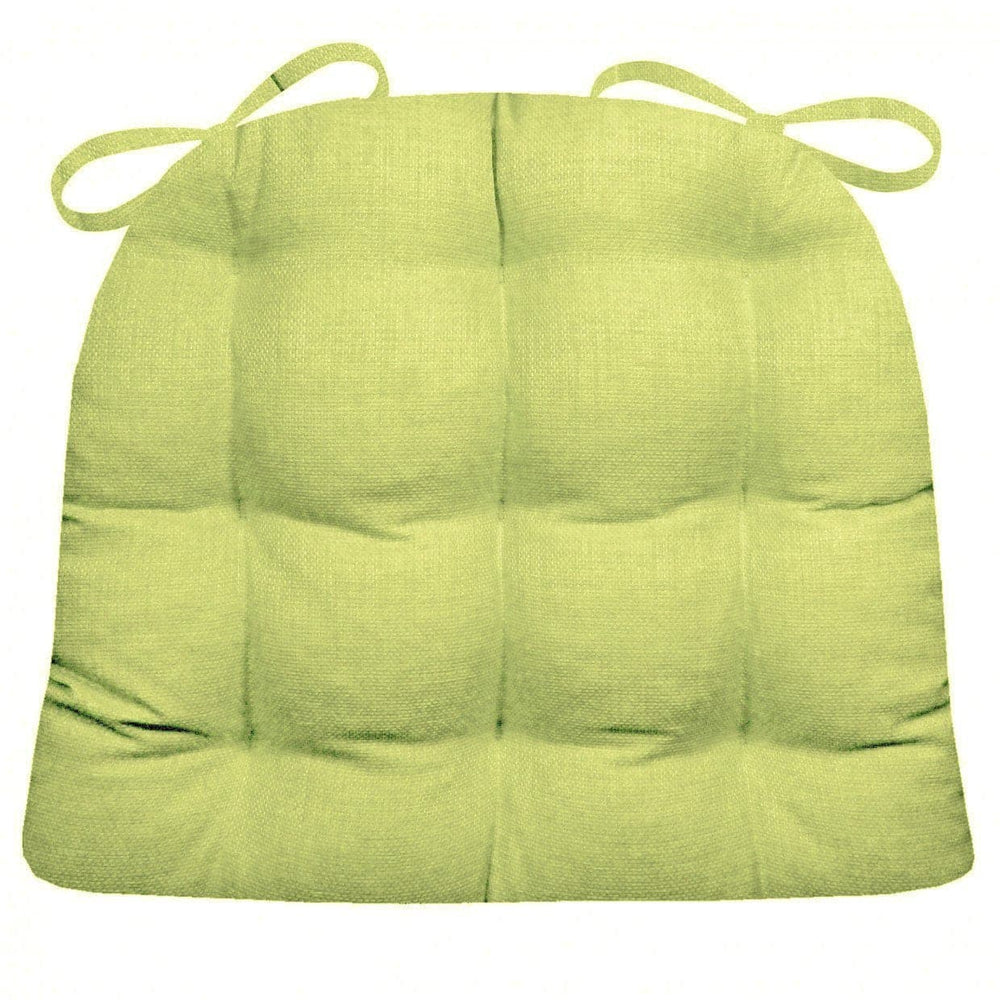 Rave Pear Green Indoor / Outdoor Dining Chair Pad & Patio Cushion