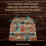 Southwest Laramie Dining Chair Pad Testimonial