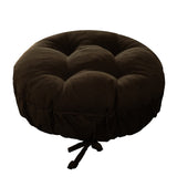 Corduroy Pinwale Brown Bar Stool Cover | Barnett Home Decor