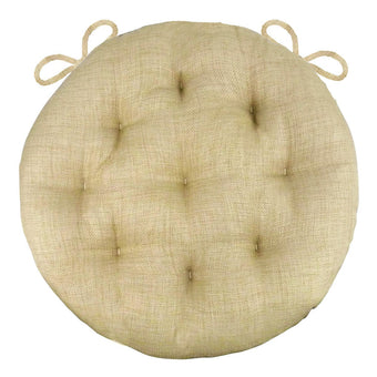 Rave Sand Round Bistro Cushions - 16"