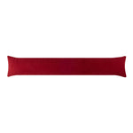 Corduroy Garnet Red Breeze Blocker Draft Stopper Noodle Pillow