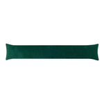 Corduroy Hunter Green Breeze Blocker Draft Stopper Noodle Pillow