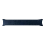 Corduroy Navy Blue Breeze Blocker Draft Stopper Noodle Pillow