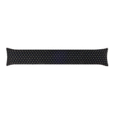 Tiffany Black Breeze Blocker Draft Stopper Noodle Pillow