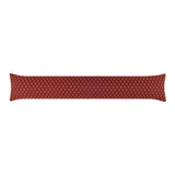 Tiffany Wine Red Breeze Blocker Draft Stopper Noodle Pillow