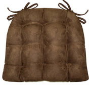 Woodlands Fairbanks Chair Cushion Reverse to Microsuede Brown