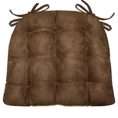 Woodlands Waypoint Brown Chair Cushion Reverse to Microsuede Brown
