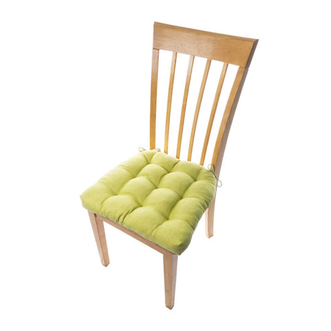 Rave Pear Green Indoor / Outdoor Dining Chair Pads - Barnett Home Decor - Pear Green