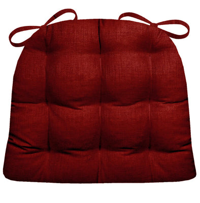 Rave Red Dining Chair Pad | Barnett Home Decor