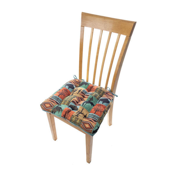 Southwest Laramie Dining Chair Pad - Latex Foam Fill