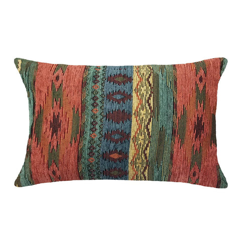 Southwest Phoenix Sunset Decorative Pillow - Santa Fe Lumbar Pillow