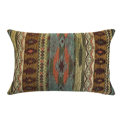 Southwest Tucson Desert Decorative Pillow - Santa Fe Lumbar Pillow