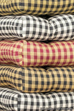 Assortment of Checkers Dining Chair Cushions | Barnett Home Decor |