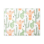 Santa Fe Cactus Placemats - Set of 4 - Reversible