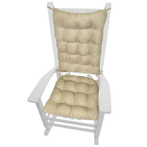 Wilderness Summit Lake Rocking Chair Cushions - Latex Foam Fill