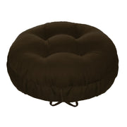 Cotton Duck Brown Barstool Cover | Barnett Home Decor | Brown