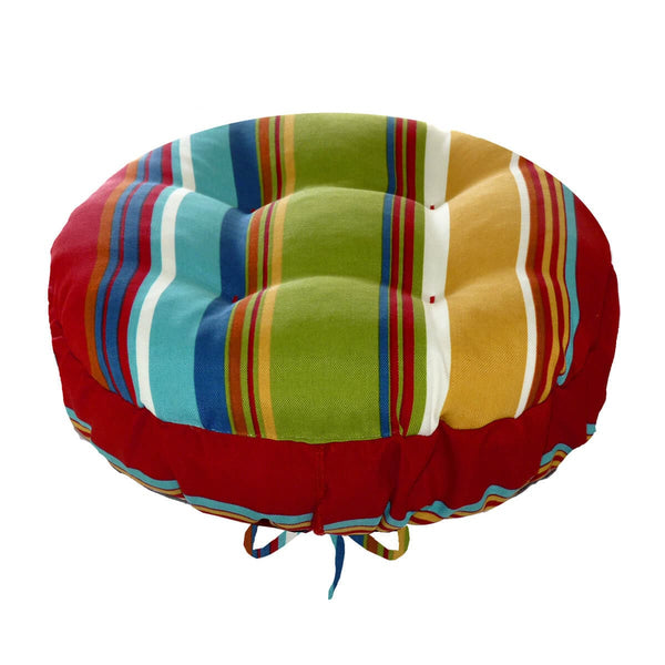 Westport Red Bar Stool Cover With Cushion Indoor