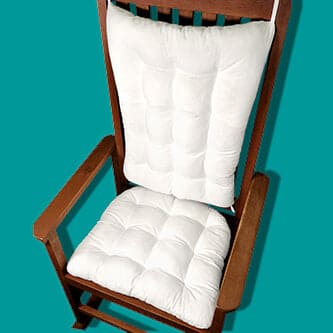 Bargain Bin Rocking Chair Cushions, Indoor/Outdoor XL Size | Condition A - Variety | NON-RETURNABLE