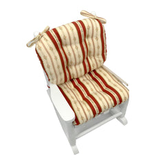Child Rocking Chair Cushions -  Brodie Floral  - Machine Washable