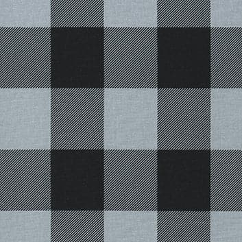 88 Buffalo Check Grey & Black 11 Swatch