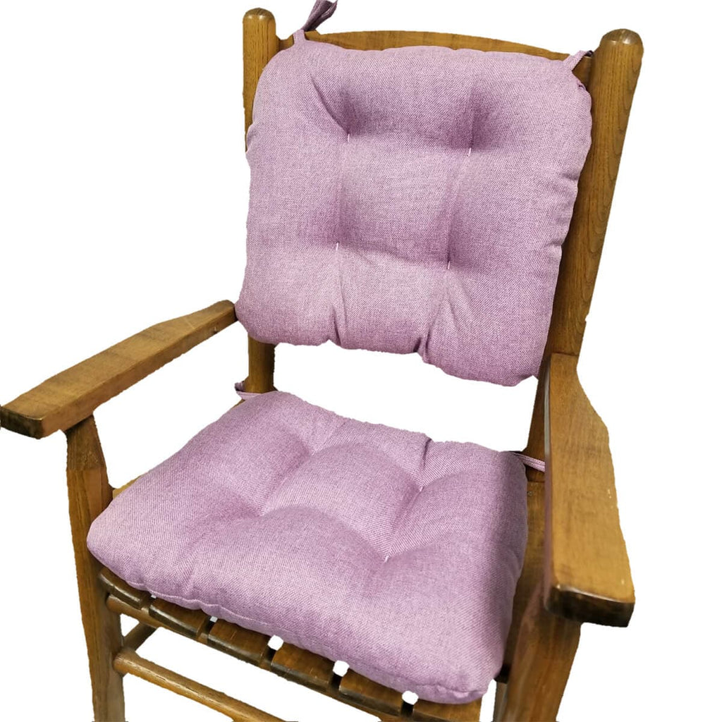 Child Rocking Chair Cushions Hayden Lavender Made In Usa