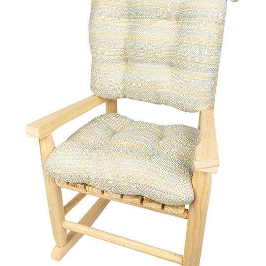 Child Rocking Chair Cushions - Made in USA - Machine Washable