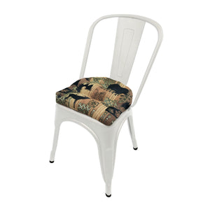 Woodlands Brentwood Industrial Chair Cushion  - Latex Foam Fill - Reversible
