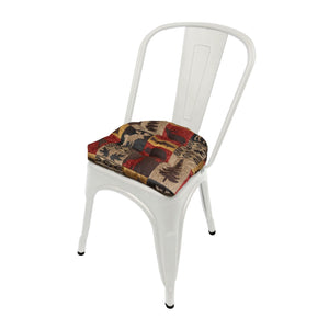 Woodlands Fairbanks Industrial Chair Cushion  - Latex Foam Fill - Reversible