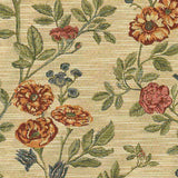 La Belle Floral Brocade Rocking Chair Cushions - Latex Foam Fill