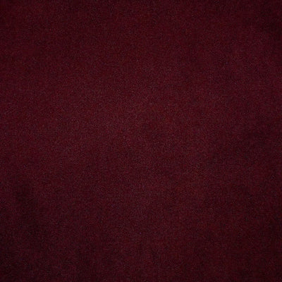 07 Micro-Suede Claret Red 61 Swatch (Wine)