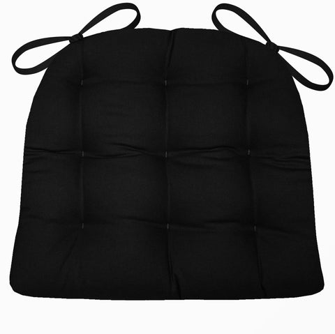 Woodlands Northwoods Chair Cushion Reverse to Microsuede Black