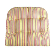Atwood Red Stripes Large Chair Cushion (No Ties) | Barnett Home Decor