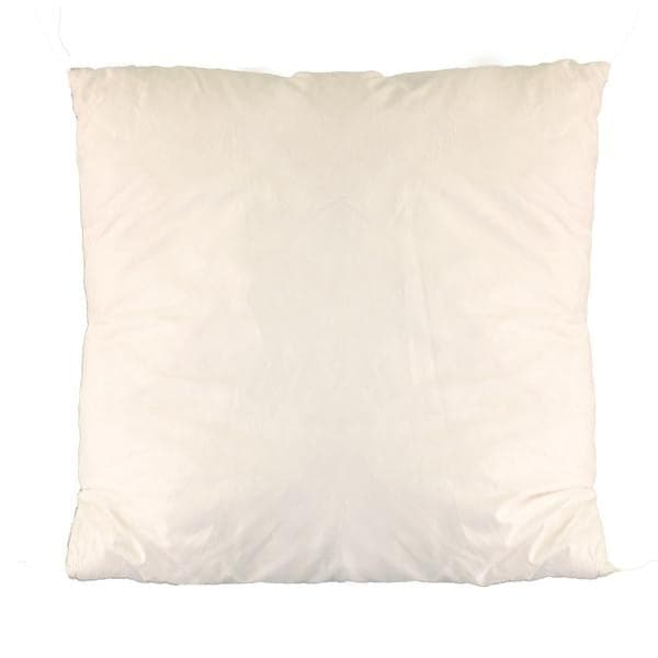 "Marvelous Moonstone Feather Throw Pillow with Removable Cover - 20"" Square"
