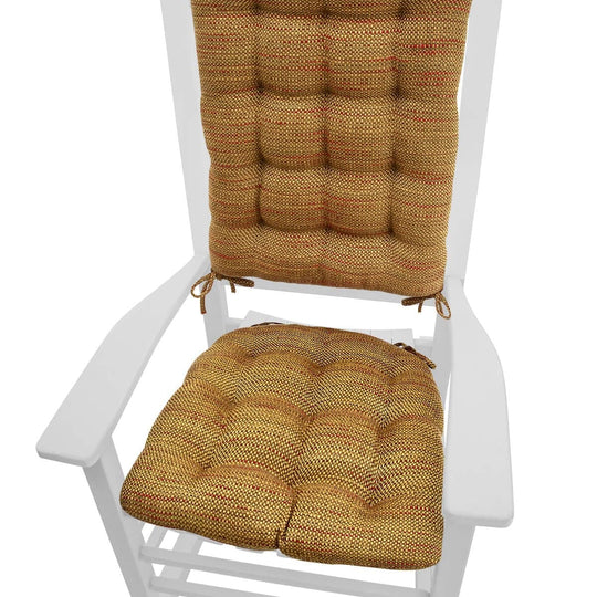 Brisbane Tan Basket Weave - Rocking Chair Cushions - Barnett Home Decor
