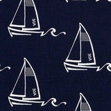Seaton Sailboats Swatch | Barnett Home Decor