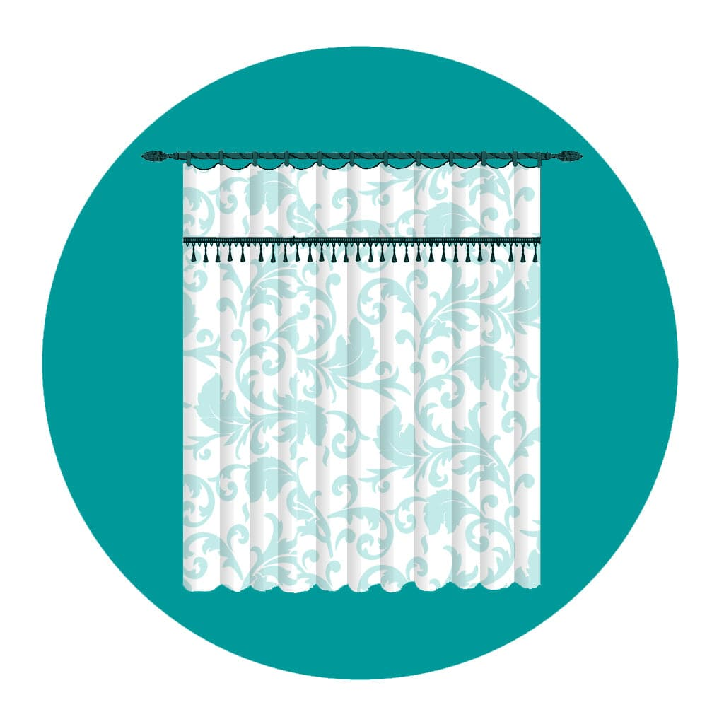 72 Fabric Shower Curtains