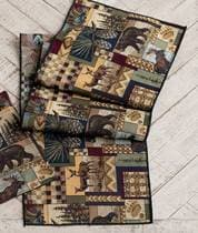 "Woodland Cabin 72"" Table Runners - Rectangle"