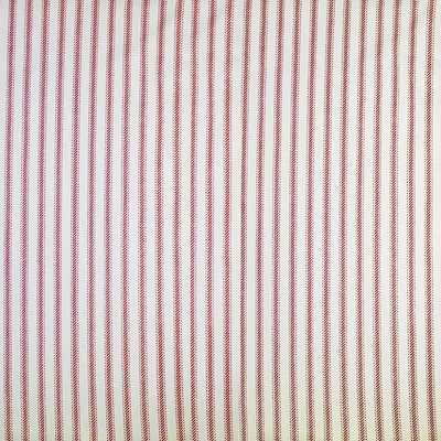 05 Ticking Stripe Red 60 Swatch