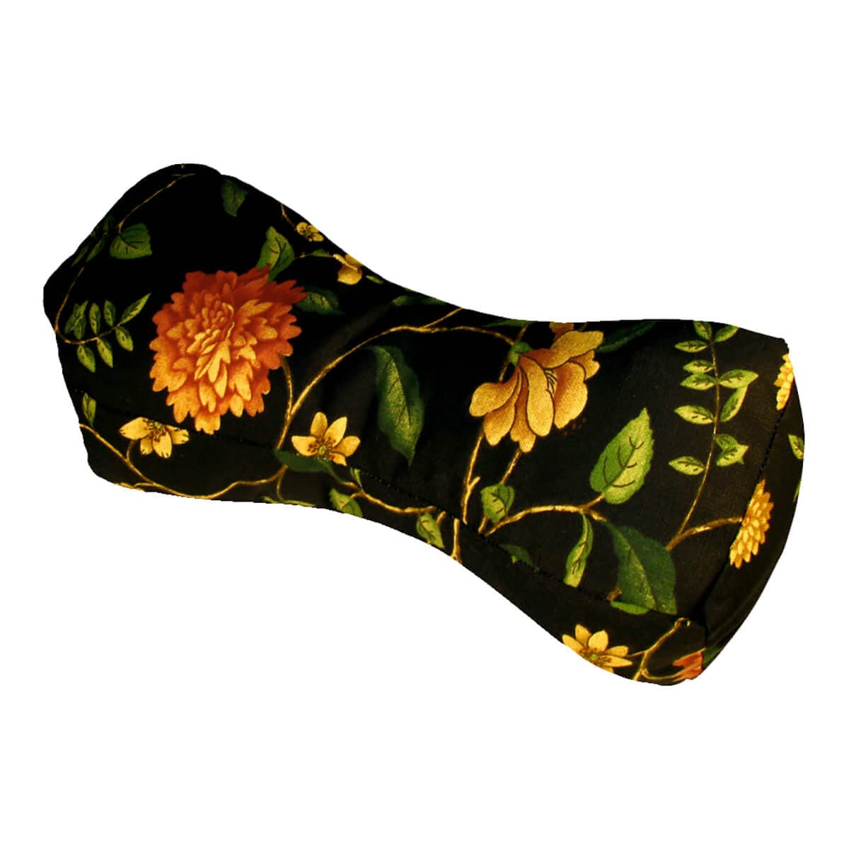 Travel Buddy Neck Support Pillow Nassau Vine Black