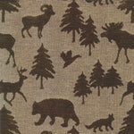 Woodlands Waypoint Brown Rocking Chair Cushions - Latex Foam Fill