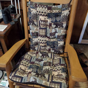Woodlands Peters Cabin Rocking Chair Cushions  - Latex Foam