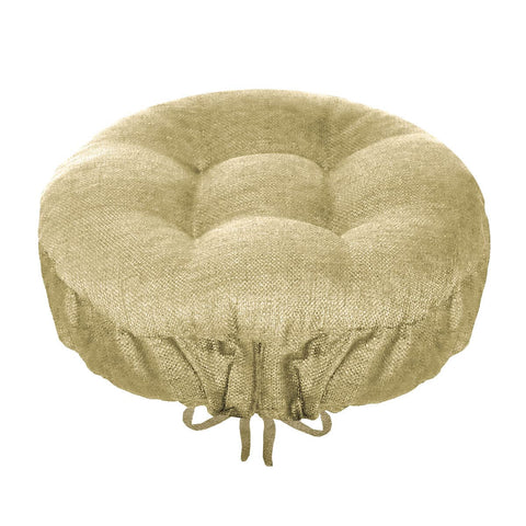 Rave Sand Indoor/Outdoor Barstool Cover | Barnett Home Decor | Sand Beige