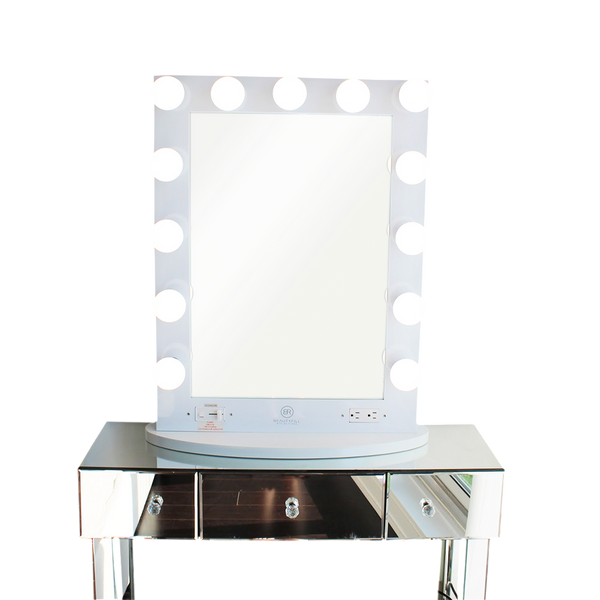hollywood lights makeup vanity mirror beautyfill box
