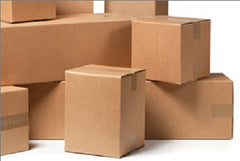 Corrugated Brown Shipping Boxes