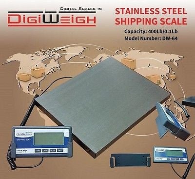 DW-64 400 Lb Small Parcel Shipping Scale - Solutionsgem